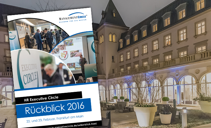 Rückblick HR Executive Circle 2016