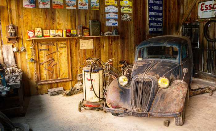 Old Car, Car, Reparatur