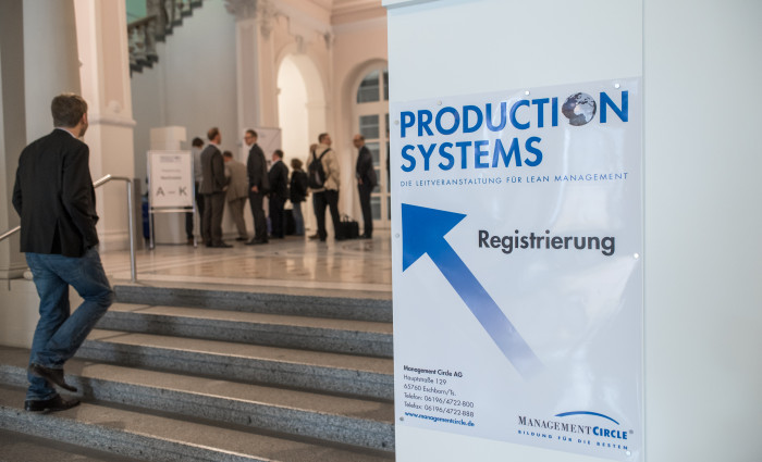 Eingang der Production Systems