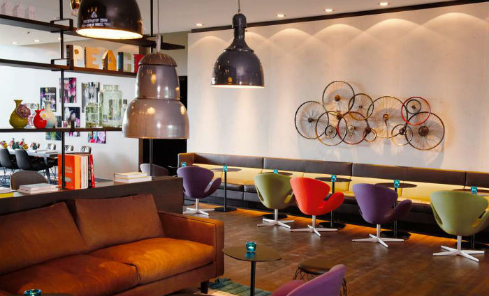 Motel One Lounge in Amsterdam