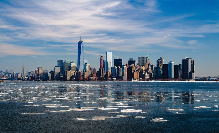 Bild: Manhatten Im Winter