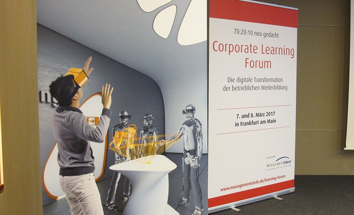 Virtual Reality, Big Data… Und Der Mensch Im Mittelpunkt. Das War Das Corporate Learning Forum