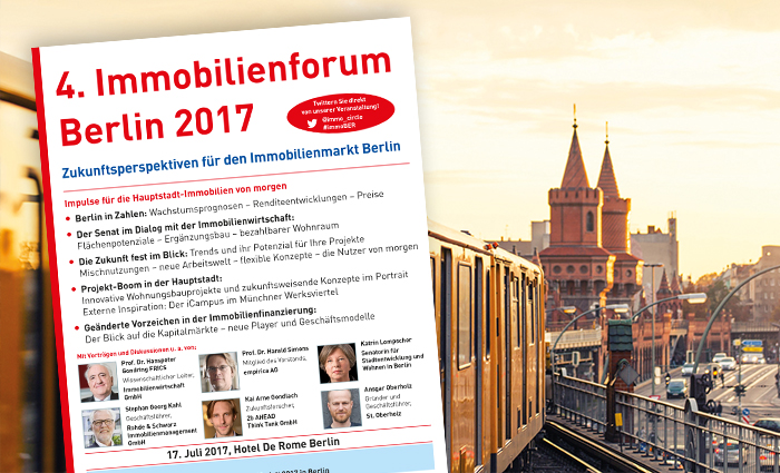 Immobilienforum Berlin Programm