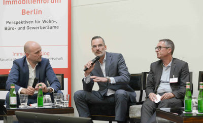 Immobilienforum Berlin Diskussionsrunde